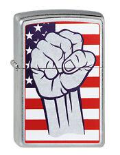 Zippo American Fist Faust USA auf Wunsch mit pers. Gravur 2003160 Neu