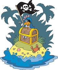 Adesivo bambino Isola pirata ref 3592