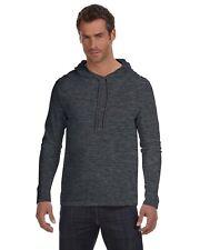 Anvil T-Shirt 987AN Basic Men's Ringspun Long-Sleeve Hooded