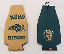 NDSU North Dakota State University BISON KOOZIE Insulated BEER BOTTLE HOLDERS