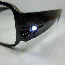 Lesebrille mit Licht Nachtbrille Brille mit LED Licht unisex incl. Batterien