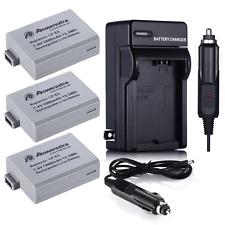 1800mAh LPE5 LP-E5 Battery / Charger Kit For Canon Rebel Xs Xsi T1i 450D 1000D