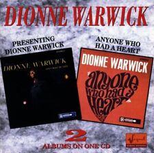 Dionne Warwick - Presenting../Anyone Who Had a Heart - Dionne Warwick CD ZEVG