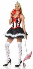 QUEEN of HEARTS Alice in Wonderland Sexy Adult Costume Leg Avenue