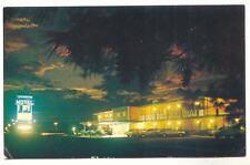 THE LEXINGTON MOTEL 820 S Main St Night View Virginia Vintage Chrome Postcard