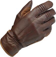 Biltwell Work Motorcycle Gloves Chocolate