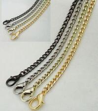 40-120 CM Lobster Smooth Metal Chain For Handbag Or Shoulder Strap Bag Purse