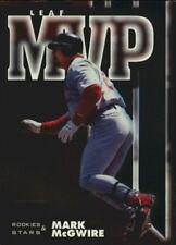 1998 (CARDINALS) Leaf Rookies and Stars Leaf MVP's #20 Mark McGwire /4500