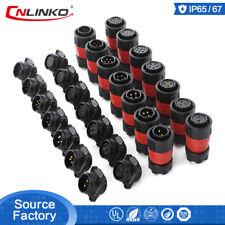 CNLinko M20 2-12 Pin Marine Connector Waterproof Outdoor Industral Plug Socket