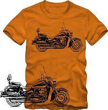 T-Shirt  Suzuki Boulevard C50 T   T-Shirt   Retro Style S/W Grafik DTG