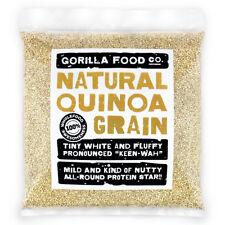 Gorilla Food Co. Natural Quinoa Grain - 200g-6.4kg (Great value £ per 1kg)