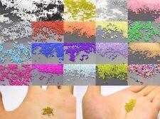 12g Glass MicroBead No Hole 0.8mm -1mm Nail Art Caviar Marbles Microbeads