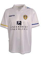 Leeds United 2011/12 (Xl) & 2012/13 (M) Macron White S/S Football Soccer Shirt