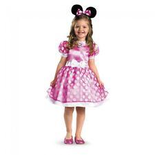 Disguise Disney Rosa Minnie Mouse Clásico Infantil Niña Disfraz Halloween 18921