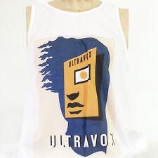 glam rock new wave t-shirt vest tank top ULTRAVOX visage numan soft cell S-2XL