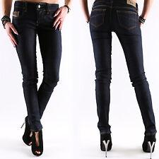 NEW DIESEL GRUPEE Super Slim Jeans Donna Pantaloni W L 24 25 26 27 28 29 30 31 32 NUOVO