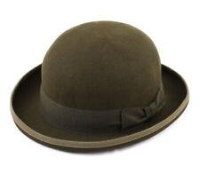 Chapeau feutre homme ou femme Classic Melon - olive