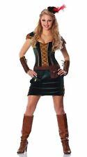 Lady Sherwood Robin Hood Sexy Womens Costume