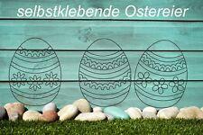 Wandtattoo - Ostereier Eier Ostern Aufkleber Wandbild Fensterbild Easter Egg