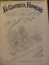 LE COURRIER FRANCAIS 1901 N 15 DESSIN DE M. A. WILLETTE