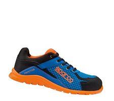 SPARCO BLUE ORANGE PRACTICE S1P 36-48 Schuhe Sicherheitsschuhe Arbeitsschuhe