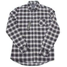 5671L camicia uomo ALESSANDRINI cotone pesante manica lunga camicie shirts men
