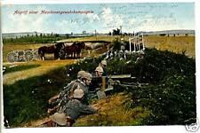 AK-1.WK.-Soldaten-Mit Pickelhaupe-MG-Kompagnie