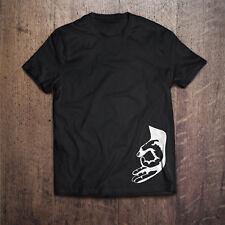 CERCHIO a mano gioco Divertenti Novità Scherzo MEME T-shirt Tee Grande regalo di compleanno per lui