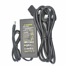 UK Plug AC DC 12V 5/6/10A Adaptor LED Strip Lights Transformer CCTV Power Supply