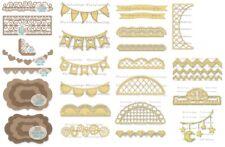 DECORATIVE BANNER & BORDER STEEL DIE-La-La Land Crafts-Marci & Luka Stamps-Dies
