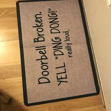 Funny Hilariously Welcome Doormat Indoor/Outdoor Rubber Floor Mats Non Slip Rug