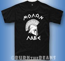 Spartans t-shirt Sparta Greece helmet gym 300 molon labe tshirt + longsleeve