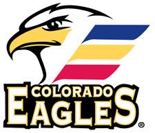 Colorado Eagles AHL Hockey Mens Polo XS-6XL, LT-4XLT Avalanche Utah Grizzlies