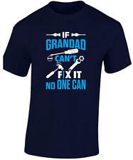 Se Nonno Cant Fix It non si può Divertente Per Bambini T-Shirt Unisex (XS-XL) by