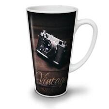 Vintage Foto Camera NEW White Tea Coffee Latte Mug 12 17 oz | Wellcoda