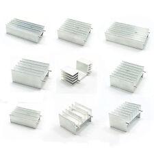 RADIATORE Dissipatore di calore in alluminio dimensioni diverse