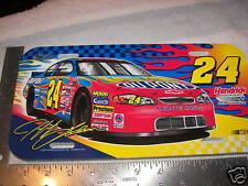 Jeff Gordon License Plate Tag Nascar #24