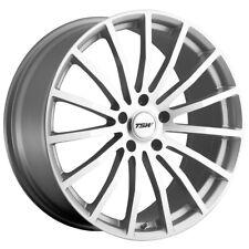 "TSW Mallory 20x8.5 5x114.3 (5x4.5"") +40mm Silver/Mirror Wheel Rim"