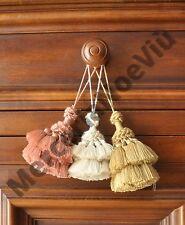 1Pz Nappe, ballerine, fiocco chiave vari colori, Made in Firenze