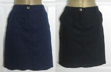NEW Next Linen Blend Black Navy Summer Holiday Sun Skirt Casual Pockets 6-18