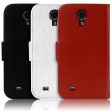 Housse Coque Etui Portefeuille pour Samsung Galaxy S4 couleur