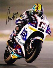 Karel Abraham signed Moto GP 12x8 photo Image A  UACC