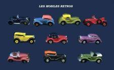 2016 LES MOBILES RETROS FEVE VOITURE ANCIENNE 1/160 modèle au choix