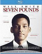 Seven Pounds -  Will Smith, Rosario Dawson (Blu Ray, 2008, 1-Disc  ) Color R