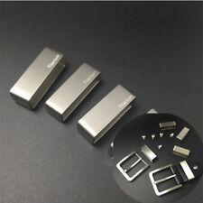 38/37/35/33mm Titanium Belt Fasten Loop Belt Ring End Cord For man Belt Buckle