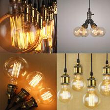E27 Globe G80/G95 Classic Squirrel Cage Filament Edison Bulb 40W 110V Light Lamp