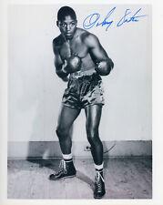 JOHNNY SAXTON Signed 10x8 Photo WORLD CHAMPION Welterweight BOXER   COA