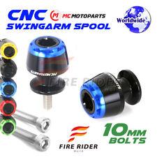 Billet 10mm MSHINE Swingarm Spools For Kawasaki ER-6F 05-16 05 06 07 08 09