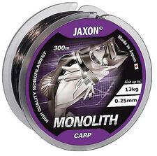 300m ANGELSCHNUR JAXON MONOLITH CARP, MONOFILE KARPFENSCHNUR, GRUNDANGELN, NEU