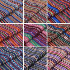 Boho Tribal Shawl Ethnic Hippie Costume Fabric Craft Sofa Throw Material Vintage